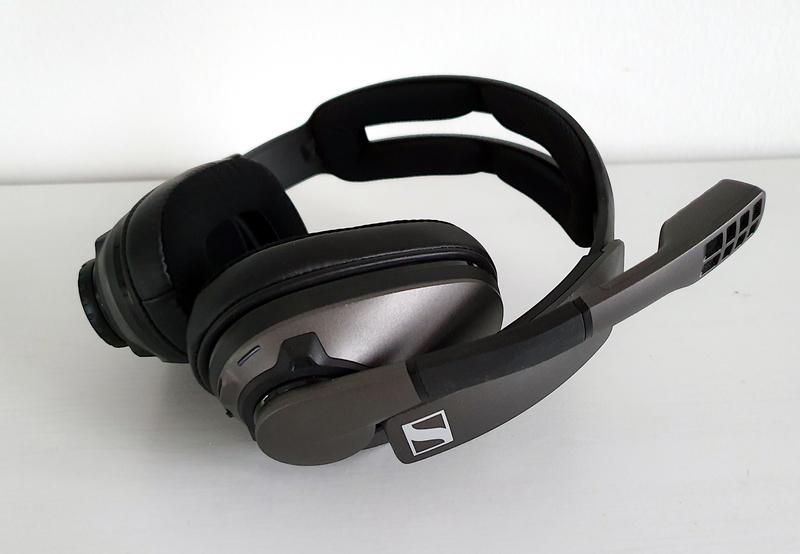 GSP 370 kuulokkeissa on erittäin pitkä akkukesto