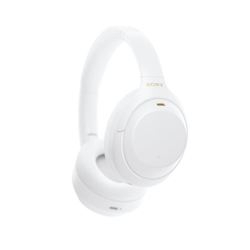 Sonyn WH-1000XM4 vastamelukuulokkeet valkoisessa värissä