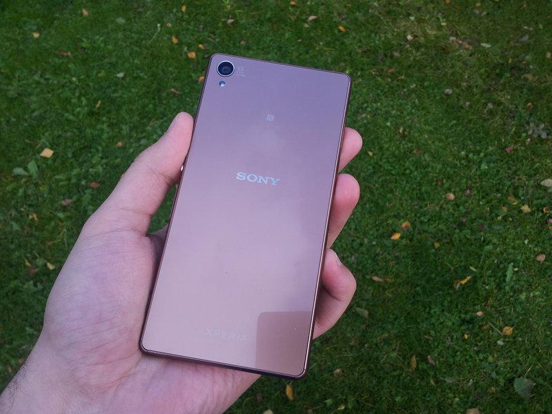 Testissä Sony Xperia Z3 - ulkoasu