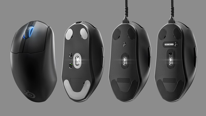 Eri Prime-malliston hiiret vierekkäin