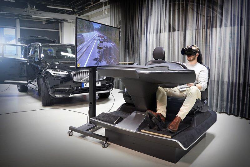 Volvo hyödyntää autojen kehittämisessä Varjon virtuaalitodellisuuskypärää