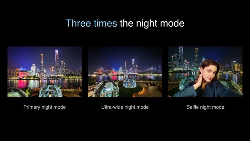yökuvaus onnistuu kolmella kameralla