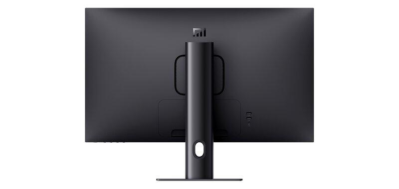 Mi 2K Gaming Monitor 27 pelinäyttö takaa mustassa värissä