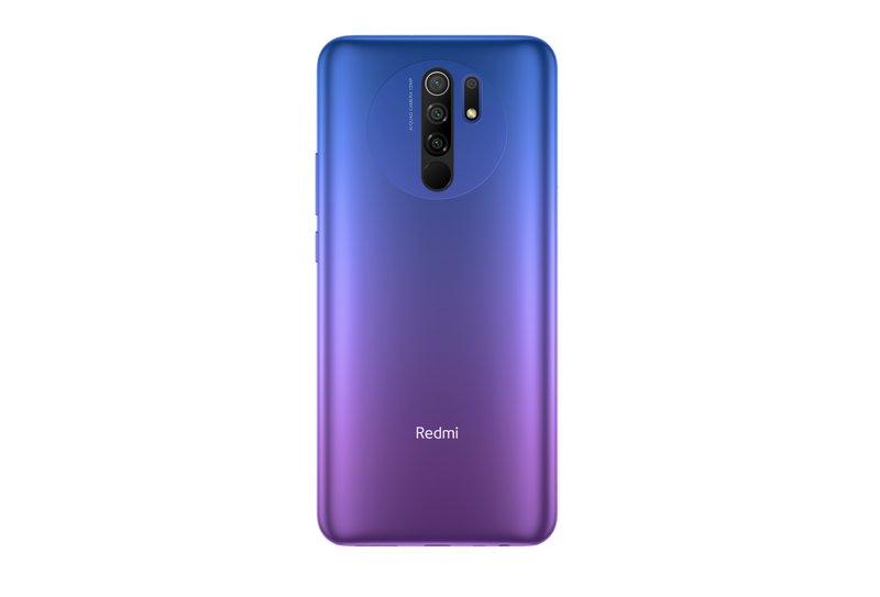 Redmi 9 tyylikkäässä violetissa värissä
