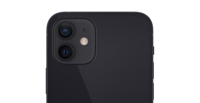 kaksi 12 megapikselin kameraa iPhone 12 puhelimessa