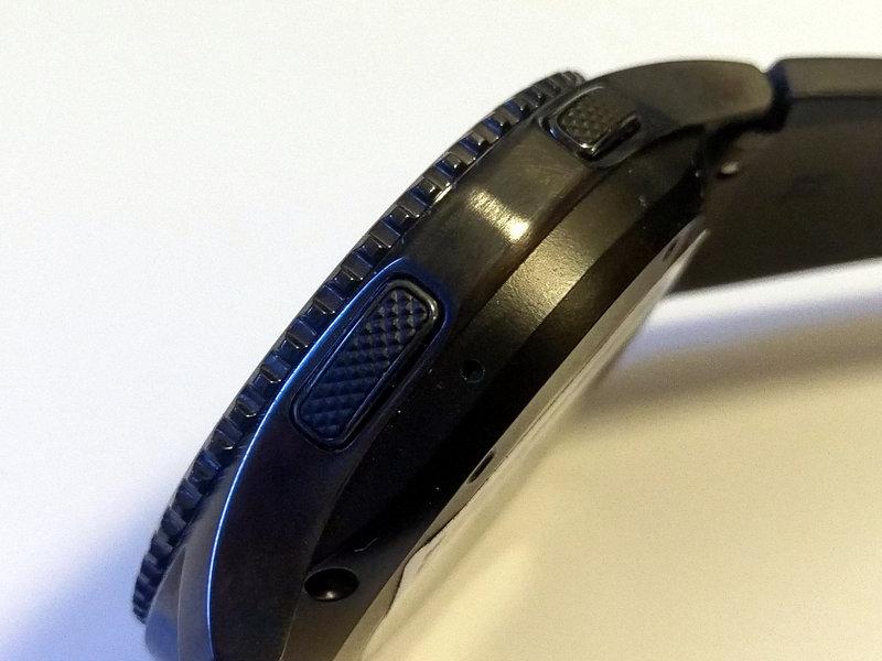 Gear S3 - sivulta