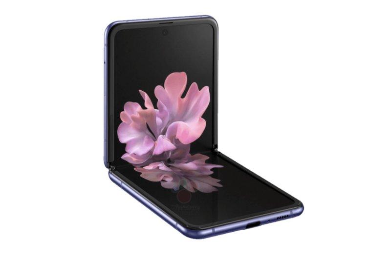 taittuvanäyttöinen Galaxy Z Flip voidaan asettaa 90 asteen kulmaan