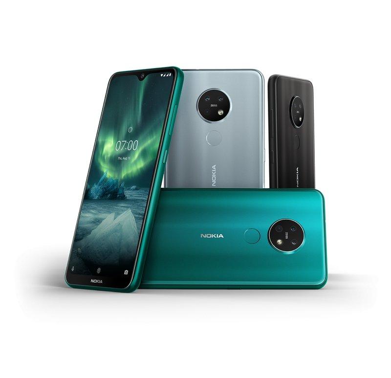 Nokia 7.2 on Nokian uutuus, josta löytyy laadukkaat kamerat