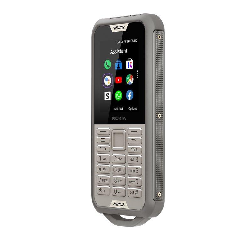 Nokia 800 Tough peruspuhelin kestää kovaa käyttöä