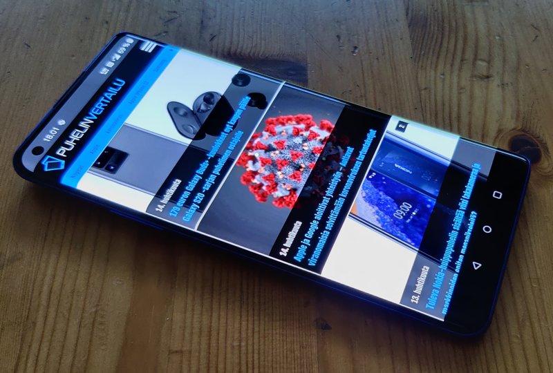 OnePlus 8 Pro edestä