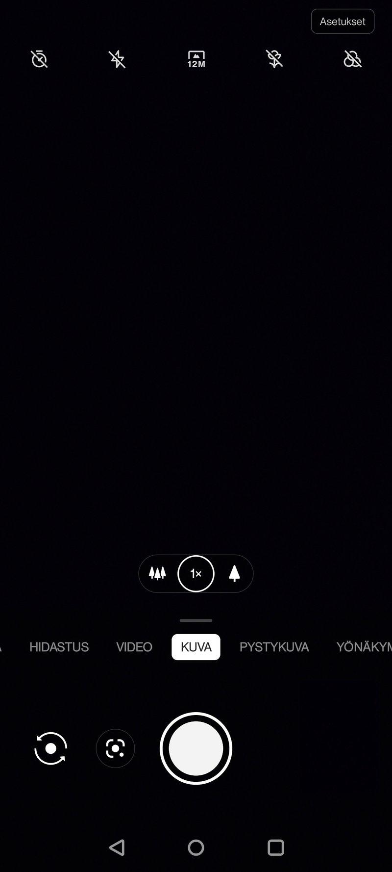 OnePlus 8T kamerasovellus