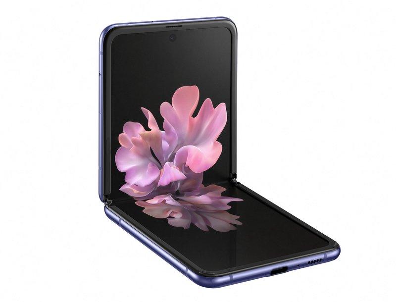 Galaxy Z Flipin näyttö taittuu