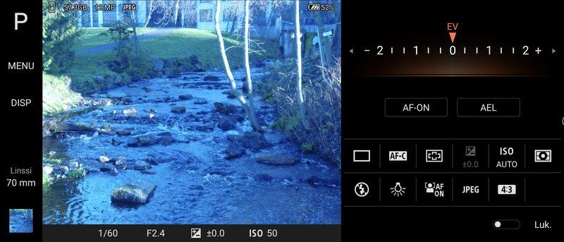 Sonyn Pro Photo -sovellus