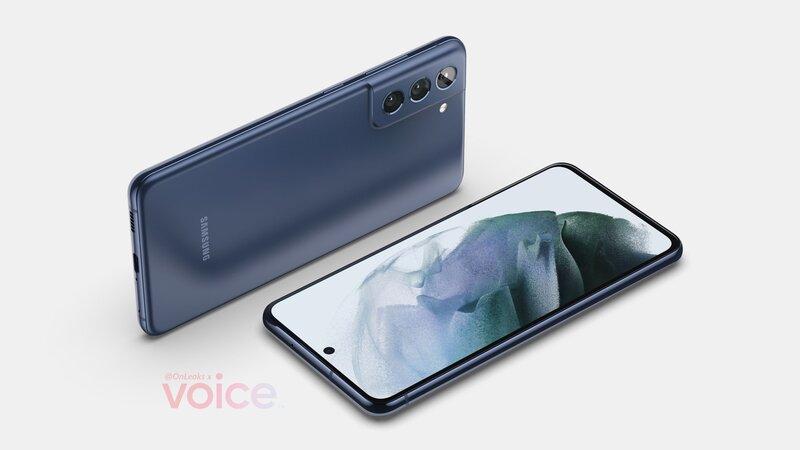 kuvavuoto paljastaa Galaxy S21 FE:n käyttävän tasaista näyttöä
