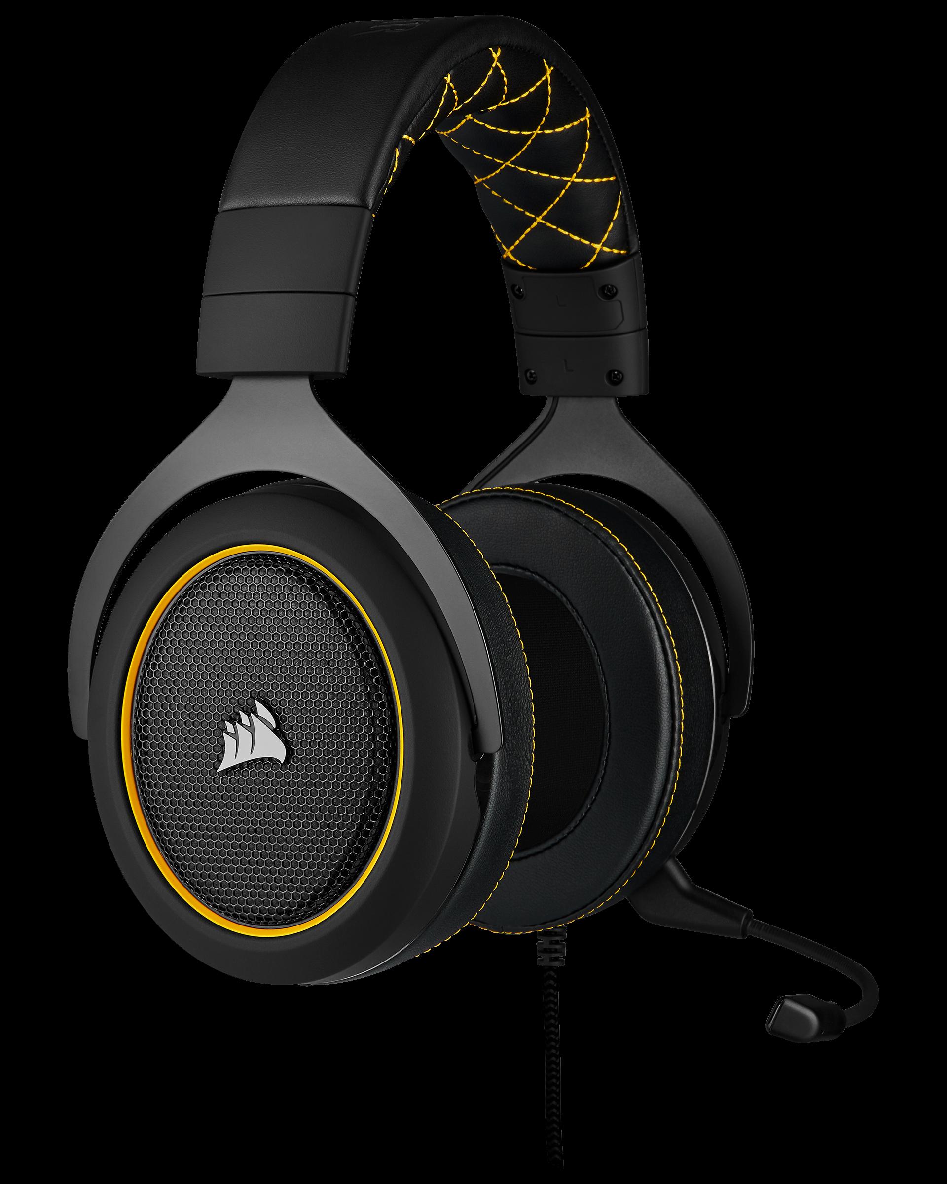HS60 Pro Surround pelikuulokkeissa on audioliitäntä ja tilaääni adapterin avulla