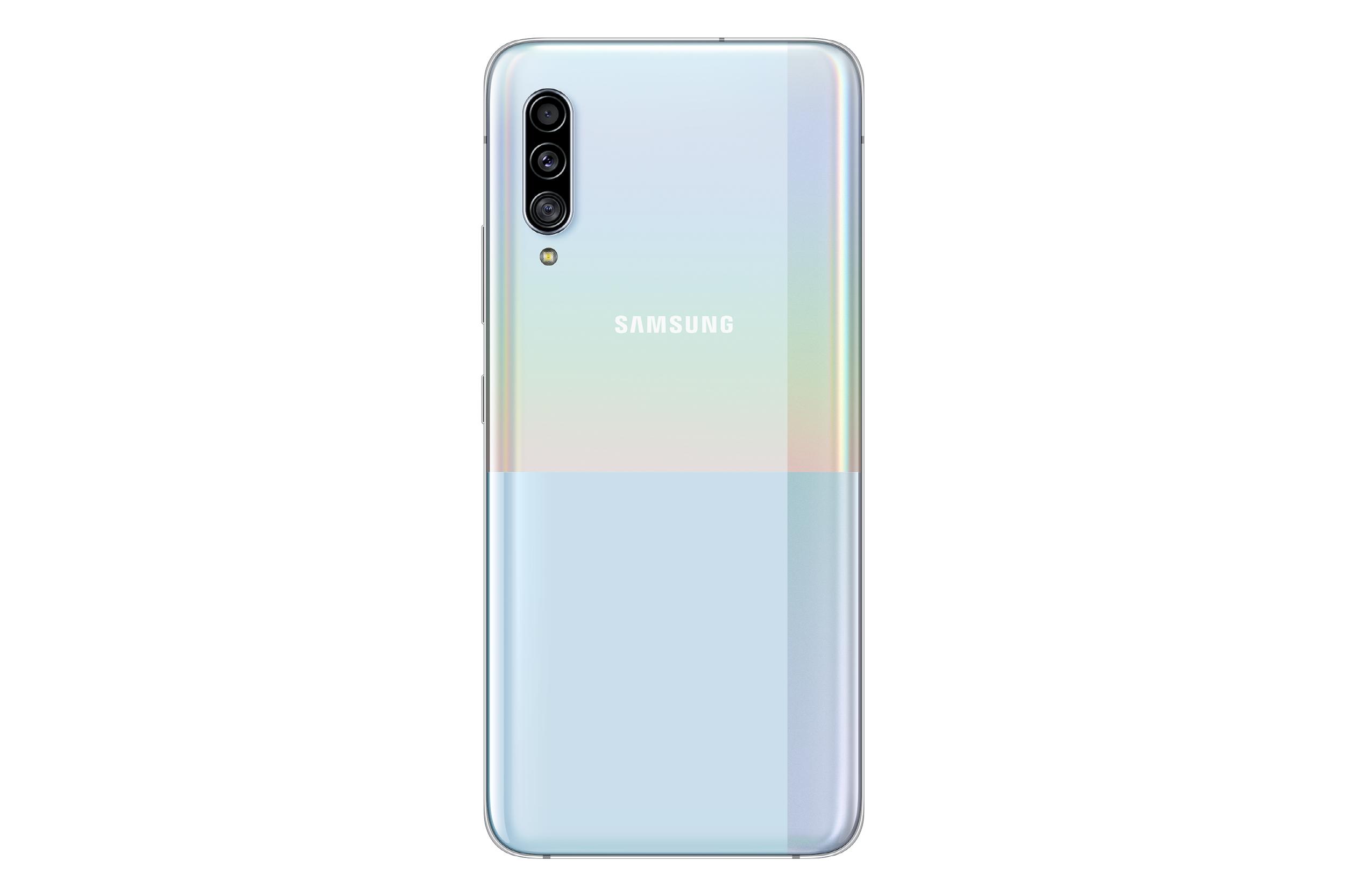 Valkoinen Samsung Galaxy A90 5G