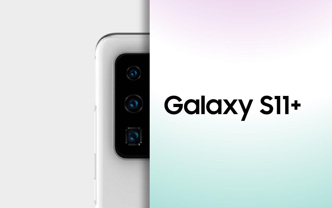 Ice universen julkaisema kuva Galaxy S11 plussan kameroista