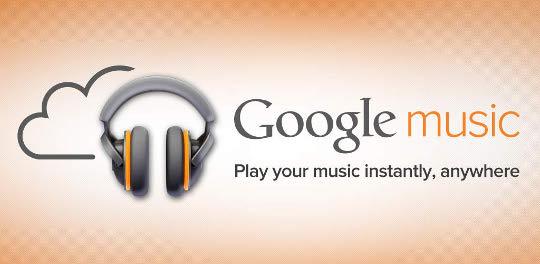 Google Music banner