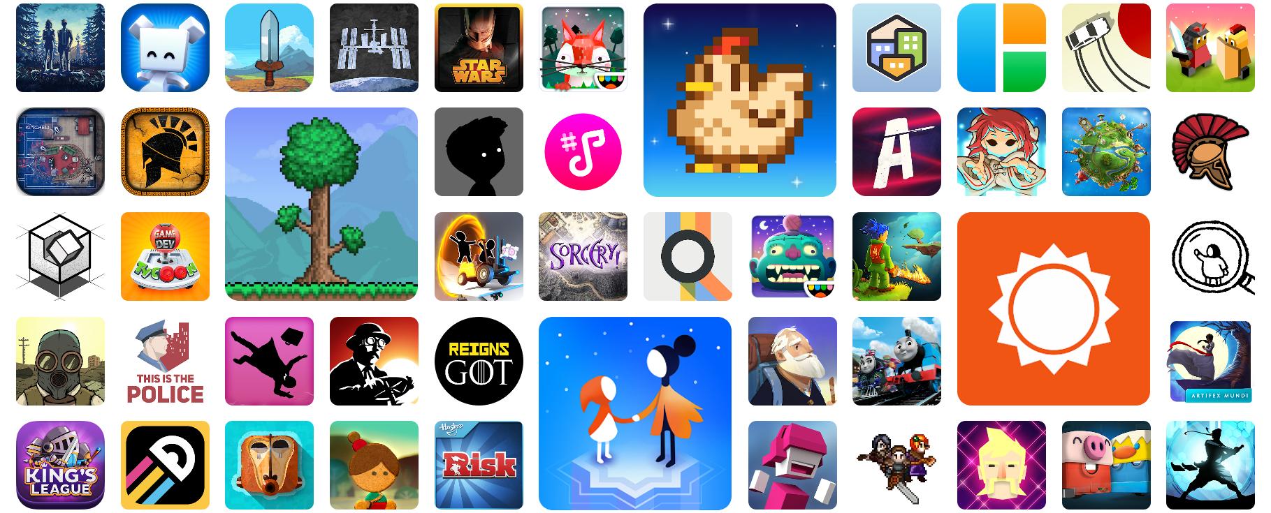 Google Play Pass palveluun kuuluvat pelit