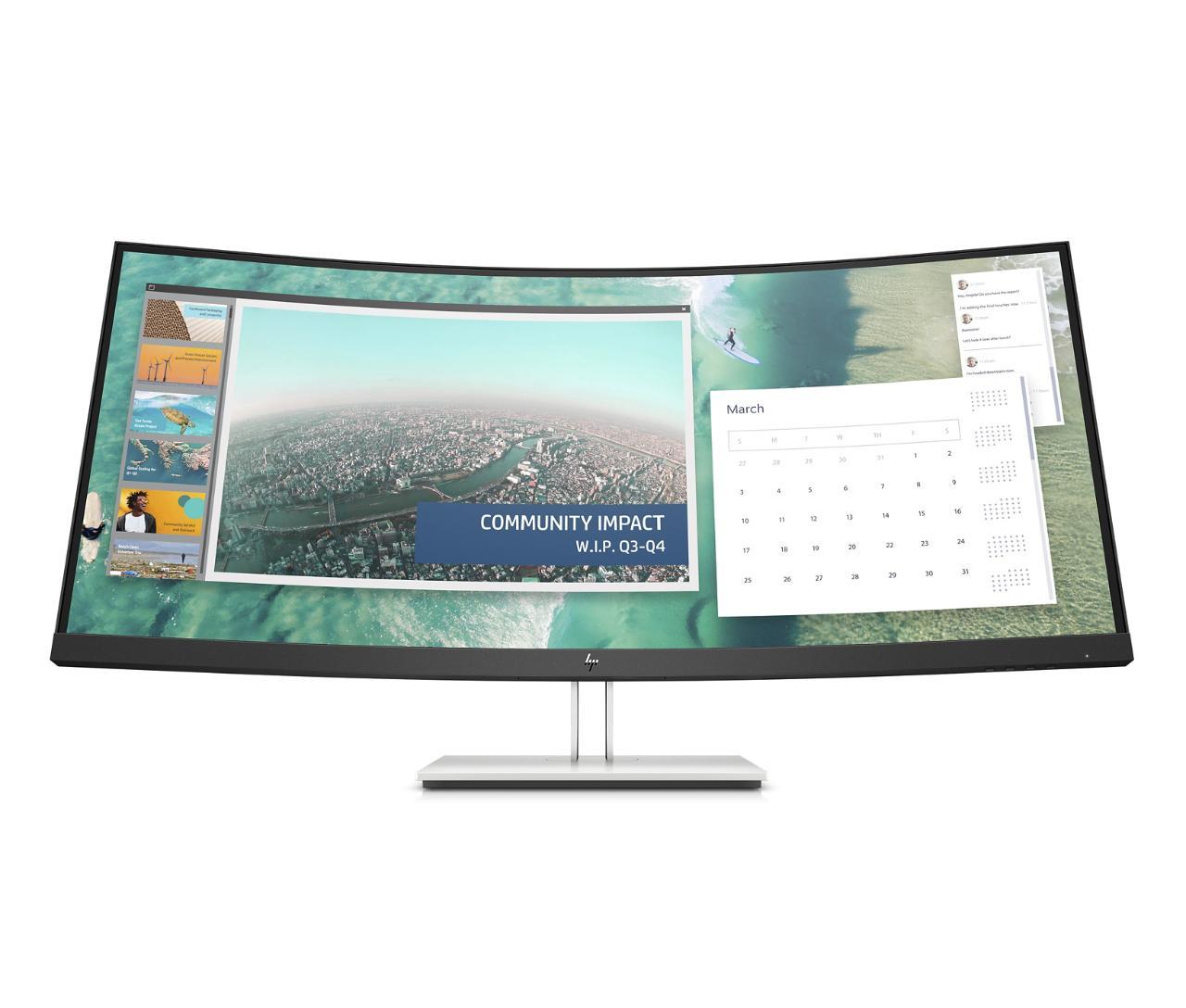 HP E344c näyttö toimistokäyttöön