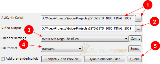 Create a video encoding job in MeGUI and add it to the Queue - AfterDawn.com