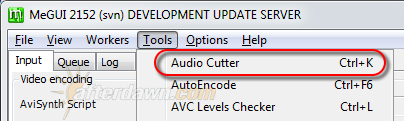 Open MeGUI's Audio Cutter tool - AfterDawn.com