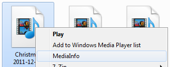 MediaInfo context menu - AfterDawn.com