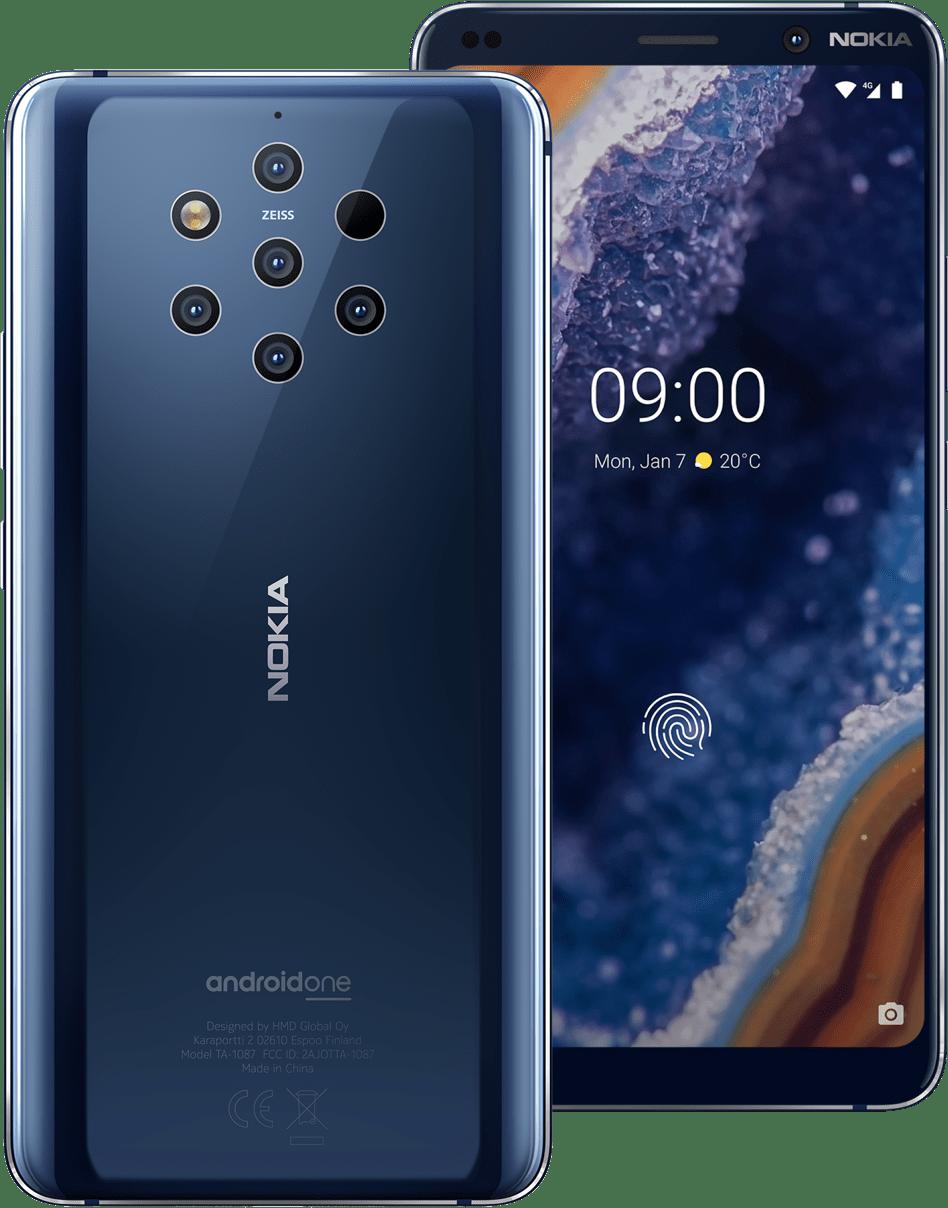 Nokia 9 PureView sisältää 5 kameraa takana