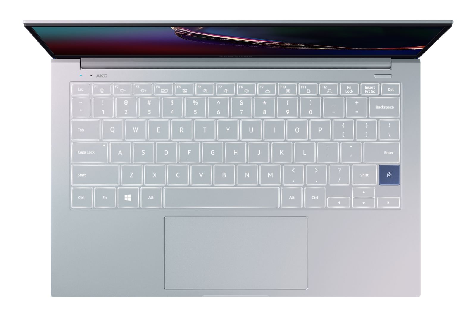 Samsung Galaxy Book Ion paino on alle yhden kilon