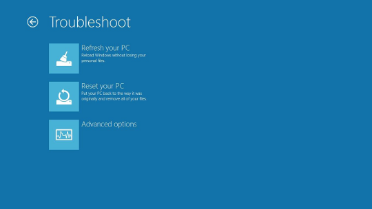 Windows 8 entering Recovery Environment from boot - AfterDawn.com