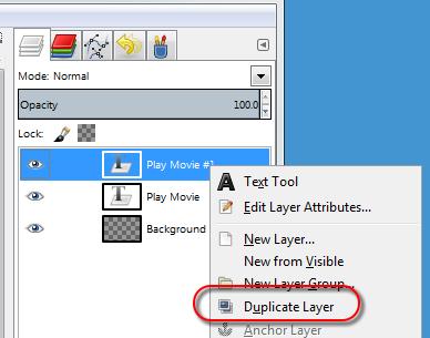 Duplicate text layer in GIMP - AfterDawn.com