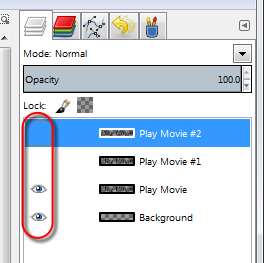 Hide layers in GIMP - AfterDawn.com
