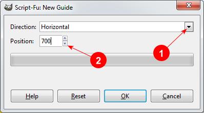 GIMP Add Guide dialog - AfterDawn.com