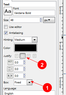 Text settings for fixed textbox with text aligned right - AfterDawn.com