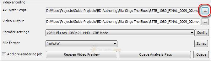 Open AVS file in MeGUI - AfterDawn.com