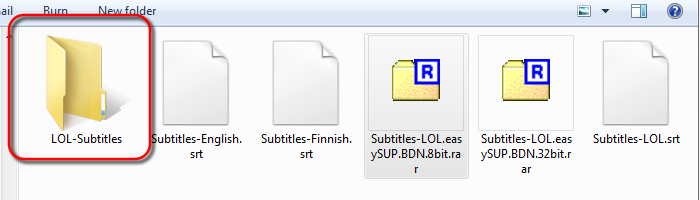New folder for extracted BDN XML subtitles - AfterDawn.com