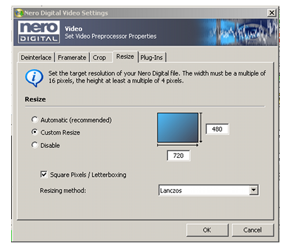convert pal video to ntsc page 2 5 pal to ntsc using nero recode rh afterdawn com Nero 6 Serial Number Nero Express 6 Windows 7