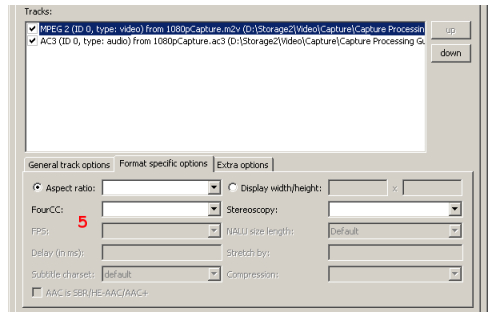 Creating MKV files with mkvtoolnix (page 3/3): Muxing with mkvmerge