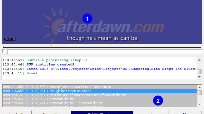 easySUP subtitle preview - AfterDawn.com