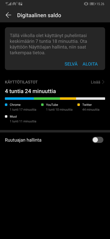 Huawei Mate 10 Pro Arvostelu