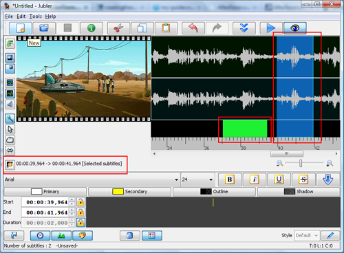 How to use Jubler and Avidemux to create and add subtitles