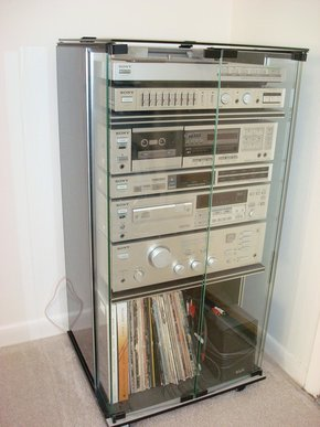 old home stereo system