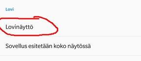 OnePlus 6 - Lovi pois kokonaan