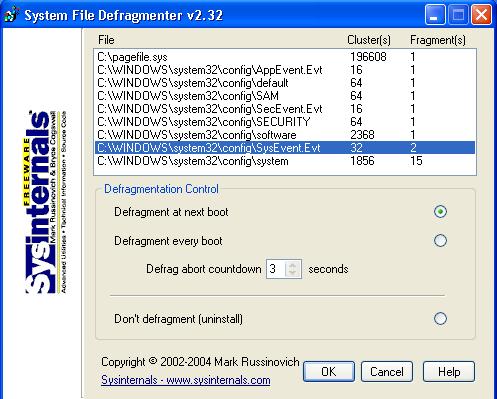 EXTRACTING PAGEDEFRAG WINDOWS 7 X64 TREIBER