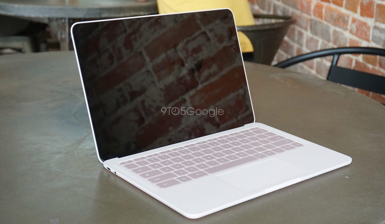 Pixelbook Gon prototyyppi 9to5google sivuston käsittelyssä