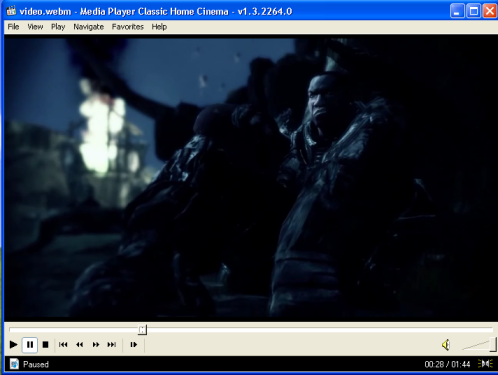 How to play WebM files (page 4/6): Windows: Play WebM with