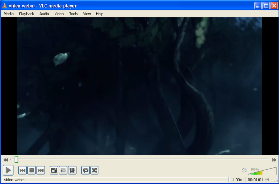 How to play WebM files (page 3/6): Windows: Play WebM with