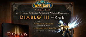 World of Warcraft Annual Pass reaches one million subscribers