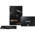 Samsung julkaisi SATA-liitäntää käyttävän 870 EVO SSD:n
