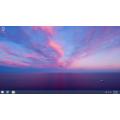 Screenshot viser startknappens tilbagevenden i Windows 8.1